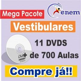 Pacote Enem E Vestibular 2013 - 11dvds - Mais De 700 Aulas