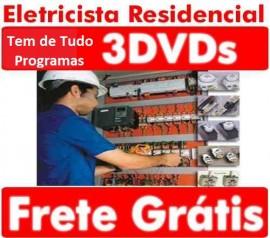 Instalações! Cursos Instalações Elétricas Residenciais 3dvds